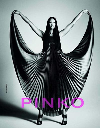 Наоми Кэмпбелл (Naomi Campbell) в рекламной кампании Pinko cезона весна-лето 2012
