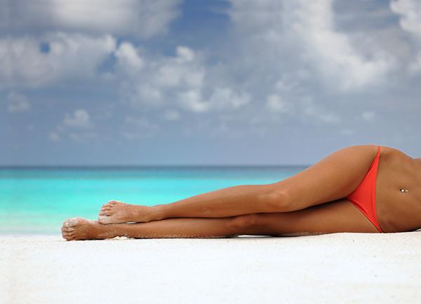 Красивые девушки с пляжа