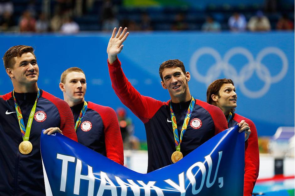 Олимпийский чемпион Фелпс уходит изспорта
