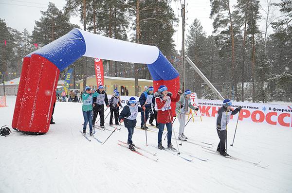 «Лыжня России» в Калуге