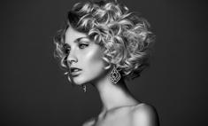 Секреты стрижки на вьющиеся волосы с челкой