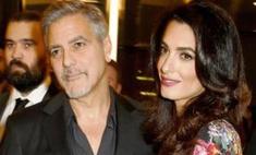 Приятные хлопоты: Клуни с женой придумали имена детям