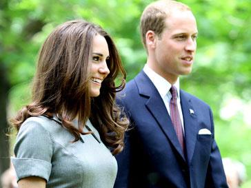 Принц Уильям (Prince William) вместе с женой в Канаде