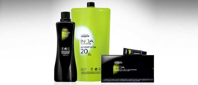 INOA предлагает широкую палитру оттенков, теплых и холодных, гарантирующих максимальную точность окрашивания.