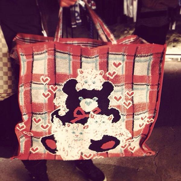 Новая сумка Ксении Собчак