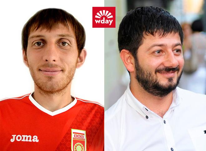 ФК «Уфа», футбол, двойники футболистов, двойники звезд