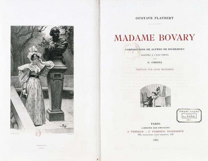 «Госпожа Бовари» Гюстава Флобера
