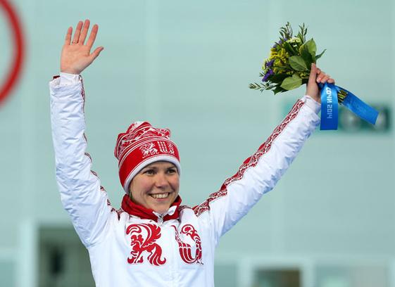 Ольга Граф, конькобежка, Олимпиада