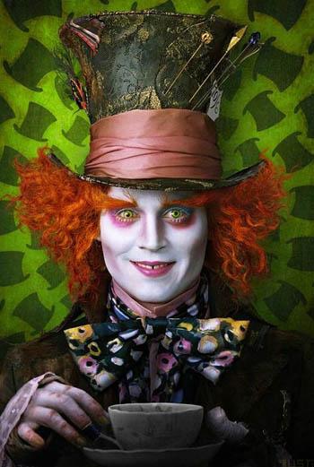Безумный Шляпник Джонни Депп