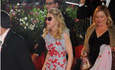 Премьера фильма Мадонны. Красная дорожка