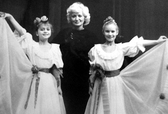 Полина Гагарина детские фото