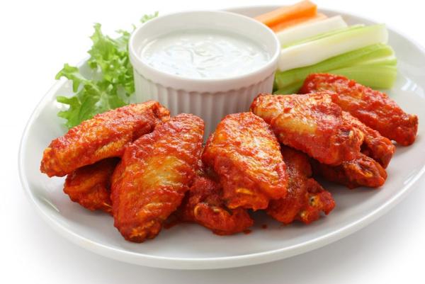 Рецепт куриных крылышек по американски