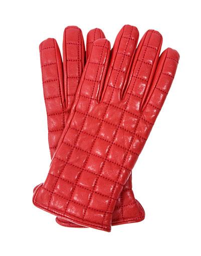 Красные перчатки BGN