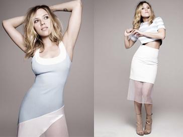 Скарлетт Йоханссон для Elle UK