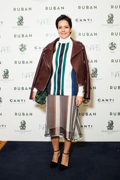 Показ осенне-зимней коллекции Ruban на Mercedes-Benz Fashion Week RussiaПоказ осенне-зимней коллекции Ruban на Mercedes-Benz Fashion Week Russia   галерея [1] фото [8]