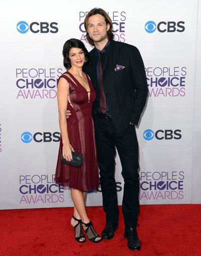 Джаред Падалеки (Jared Padalecki) с женой
