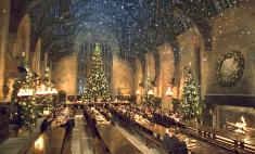 Гарри Поттер: как создавали рождественские декорации