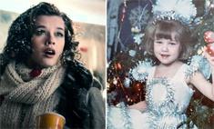 Зайчики, Снежинки: кто из звезд кем был на новогодних утренниках