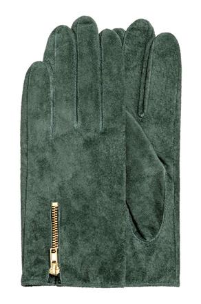 Замшевые перчатки H&M, 1699 р.