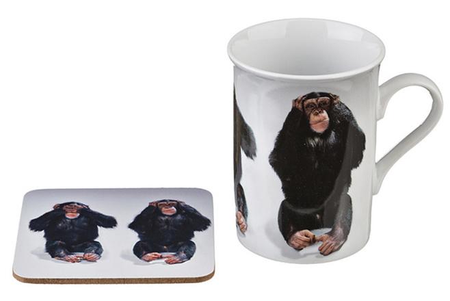 кружка с обезьяной купить