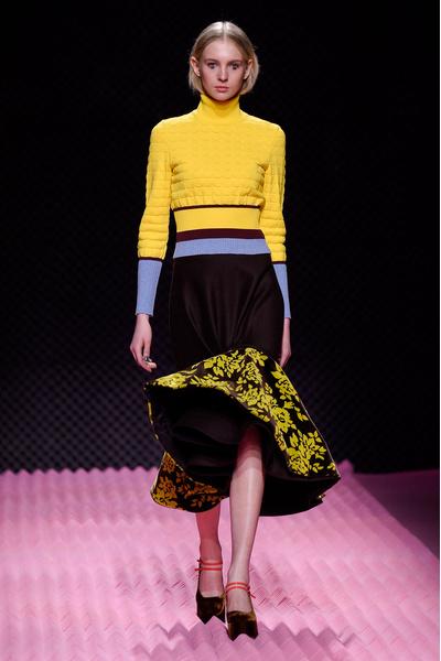 Показ Mary Katrantzou на Неделе моды в Лондоне | галерея [1] фото [18]