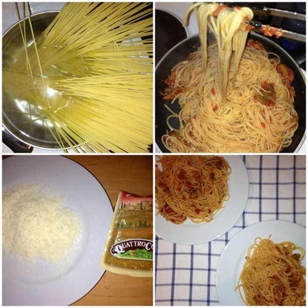 Спагетти alla Norma пошаговый рецепт