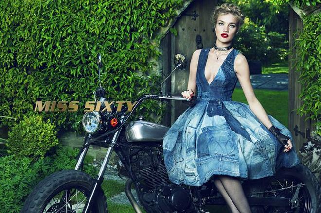 Наталья Водянова в рекламной кампании Miss Sixty осень-2015
