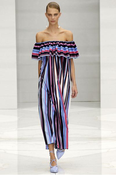 50 лучших платьев Недели моды в Милане | галерея [1] фото [27]