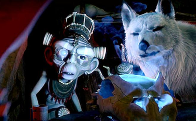 Сердце воина, кадр из мультфильма
