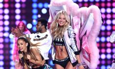 Ариана Гранде получила травму на шоу Victoria's Secret