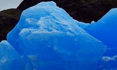 Карл Лагерфельд устроил показ на фоне айсберга
