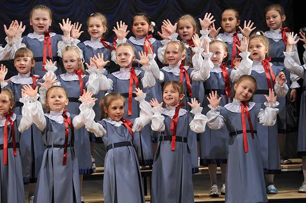 Джаз-хор детской филармонии