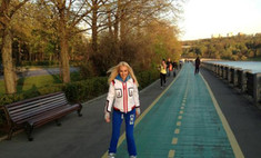 Лера Кудрявцева занялась спортом