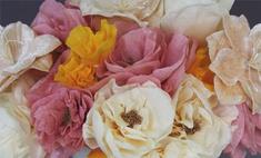 Бумажные цветы: мастер-класс