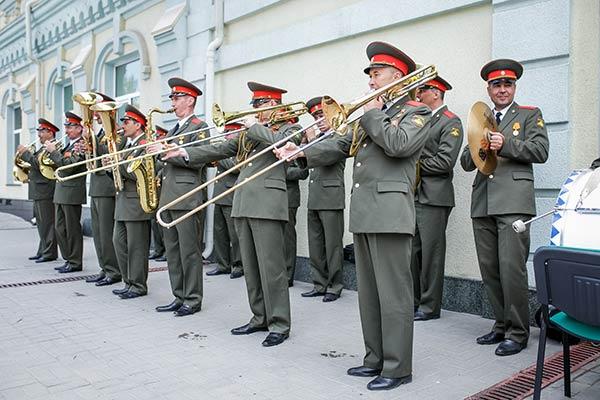 Концерт духового оркестра в Ростове