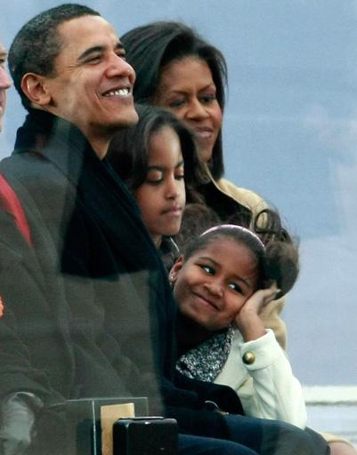Семья Барака Обама