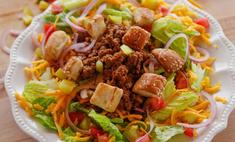 Салат «Чизбургер»