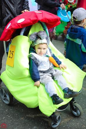Парад колясок в Пензе 2016