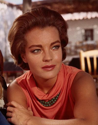 """Роми Шнайдер (Romy Schneider), кадр из фильма """"Лето, половина одиннадцатого"""", 1966 год"""