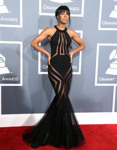 """Келли Роуленд (Kelly Rowland) на """"Грэмми""""-2013"""