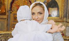 Татьяна Навка крестила младшую дочку