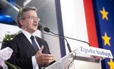 Коморовский победил на выборах в Польше с преимуществом в 6%
