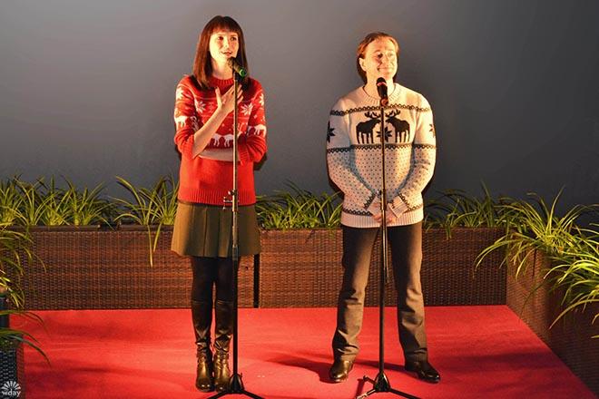 Сергей Безруков и Анна Матисон приехали в Иркутск на премьеру Млечного пути