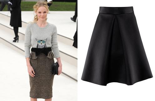 Кейт Босворт (Kate Bosworth); Юбка H&M