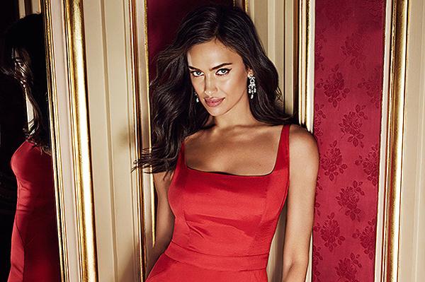 Ирина Шейк в рекламной кампании Love Republic осень-зима 2015/16