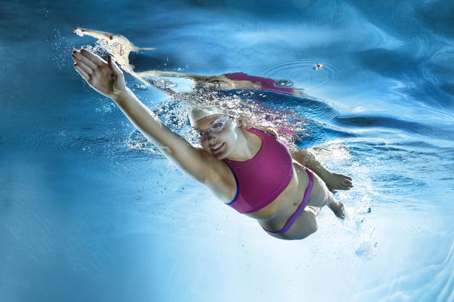 обучение плаванию взрослых