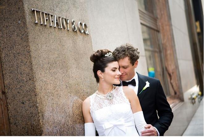Свадьба в стиле Завтрак у Тиффани фото