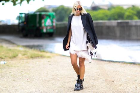 Street Style с Недель мужской моды: лучшее