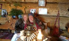 Анастасия Волочкова побывала в гостях у Бабы-яги