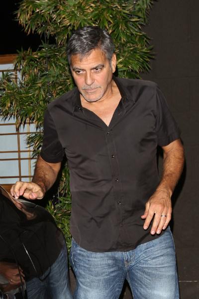 Джордж и Амаль Клуни отметили год со дня свадьбы